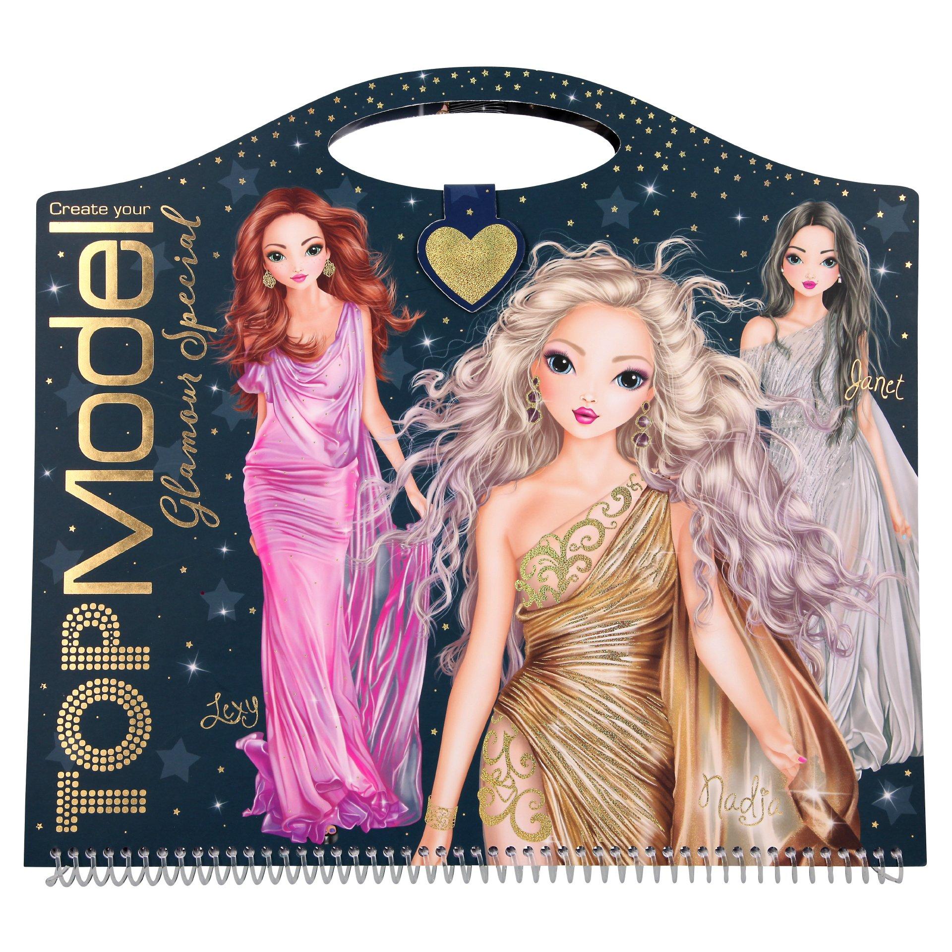 Top Model - Glamour Design Book  0410733)