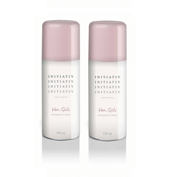 Van Gils - 2x Initiativ Deodorant spray 150 ml