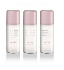 Van Gils - 3x Initiativ Deodorant spray 150 ml