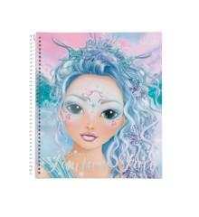 Top Model - Create Your Fantasy Face Colouring Book (0411240)