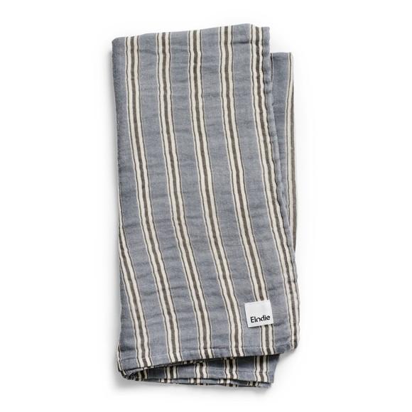 Elodie Details - Bamboo Muslin Blanket - Sandy Stripe