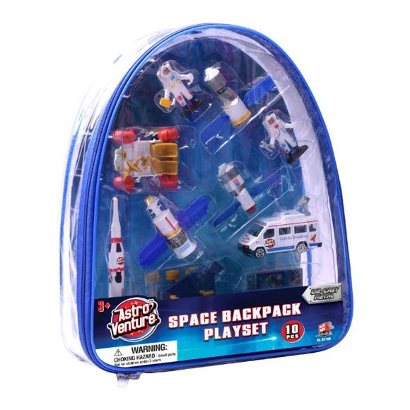 Astro Ventures - Space Backpack Playset (63169)