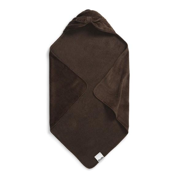 Elodie Details - Hooded BathTowel - Chocolate Bow
