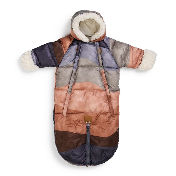 Elodie Details - Baby Overall Footmuff - Winter sunset 6-12m