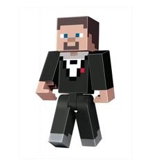 Minecraft - 8.5inch Large Figure - Tuxedo Steve (GNF21)
