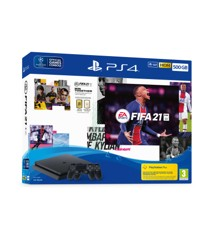 Playstation 4 500GB (FIFA 21 Bundle) 2x Dualshock