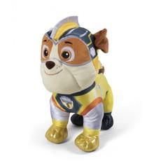 Paw Patrol - Mighty Pups Plush 37 cm - Rubble