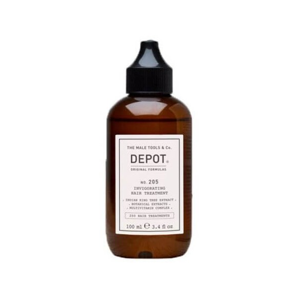 Depot - No. 205 Invigorating Hair Treatment - 100 ml