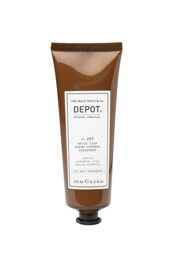Depot - No. 207 White Clay Serum Control Treatment  - 125 ml
