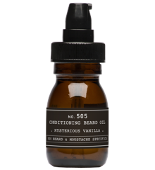 Depot - No. 505 Conditioning Beard Oil  - Mysterious Vanilia