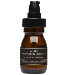 Depot - No. 505 Conditioning Beard Oil  - Ginger & Cardamom