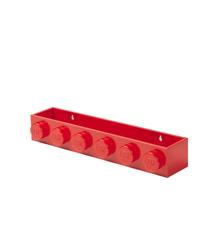 Room Copenhagen - LEGO Book Rack - Red