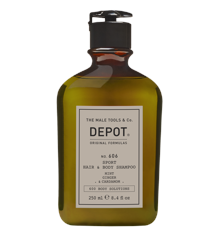 Depot - No. 606 Sport Hair & Body Shampoo - 250 ml