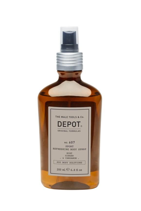 Depot - No. 607 Sport Refreshing Body Spray 200 ml