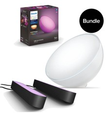 Philips Hue - Go Table Lamp & Playbars - Bundle