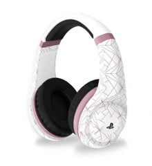 PRO70 Playstation 4 Gaming Headset Rose Gold Edition Abstract White