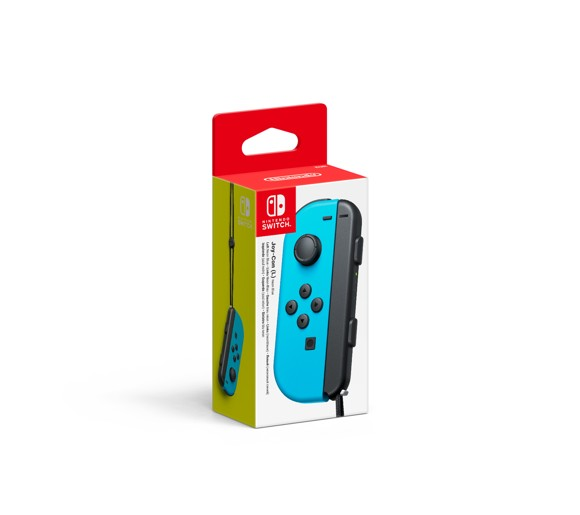 Nintendo Switch Neon Blue Joy-Con (L)