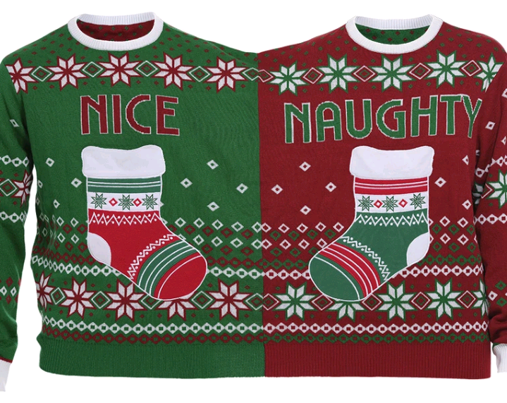 The Twin Christmas Sweater - S (Danish)