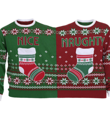 The Twin Christmas Sweater - 2XL (Danish)