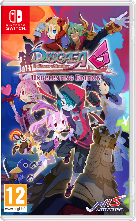 Disgaea 6: Defiance of Destiny - Unrelenting Edition