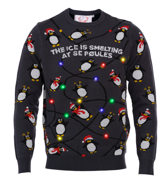 The Penguins Christmas Sweater - M