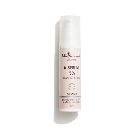 Pudderdåserne - A-Serum 5% 50 ml
