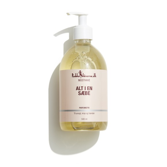 Pudderdåserne - All in One Soap 500 ml