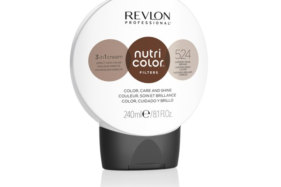 Revlon - Nutri Color Filters Toning Farvebombe 240 ml - 524 Coopery Pearl Brown