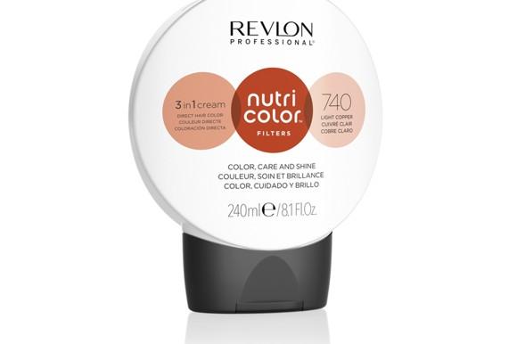 Revlon - Nutri Color Filters Toning 240 ml - 740 Light Copper