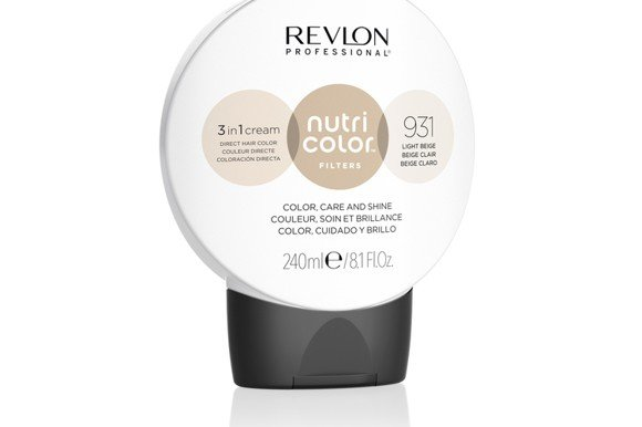 Revlon - Nutri Color Filters Toning 240 ml - 931 Light Beige
