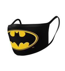 Batman logo washable face mask