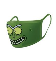 Rick & Morty Pickle Rick washable face mask