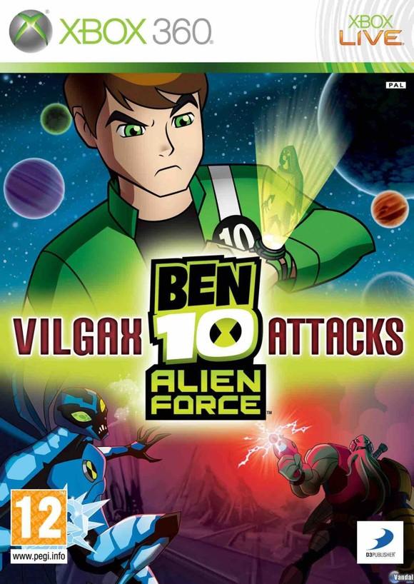 Ben 10: Alien Force - Vilgax Attacks (Import) Multilanguage In Game