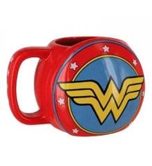 DC Comics Wonder Woman Shield 3D Mug