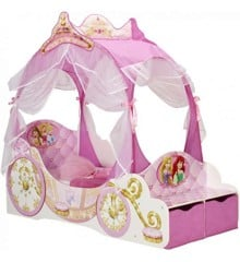 Disney Princess - Carriage Toddler Bed with Storage (452DYR01EM)