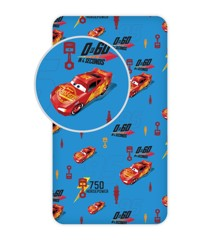 Fitted sheet - 90x200 cm - Cars (008)