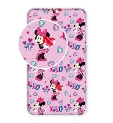 Fitted sheet - 90x200 cm - Minnie (012)