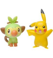 Pokemon - Battle Figure – Grooky og Pikachu