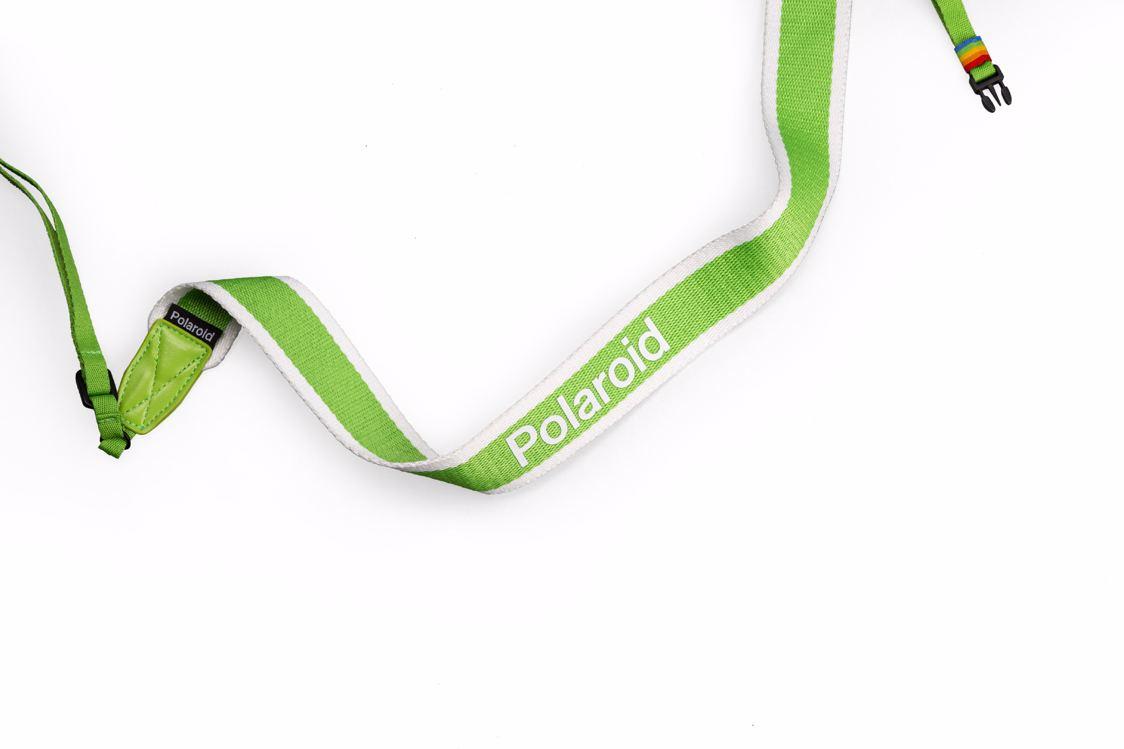 Polaroid - Camera Strap Flat For Polaroid Cameras - Green