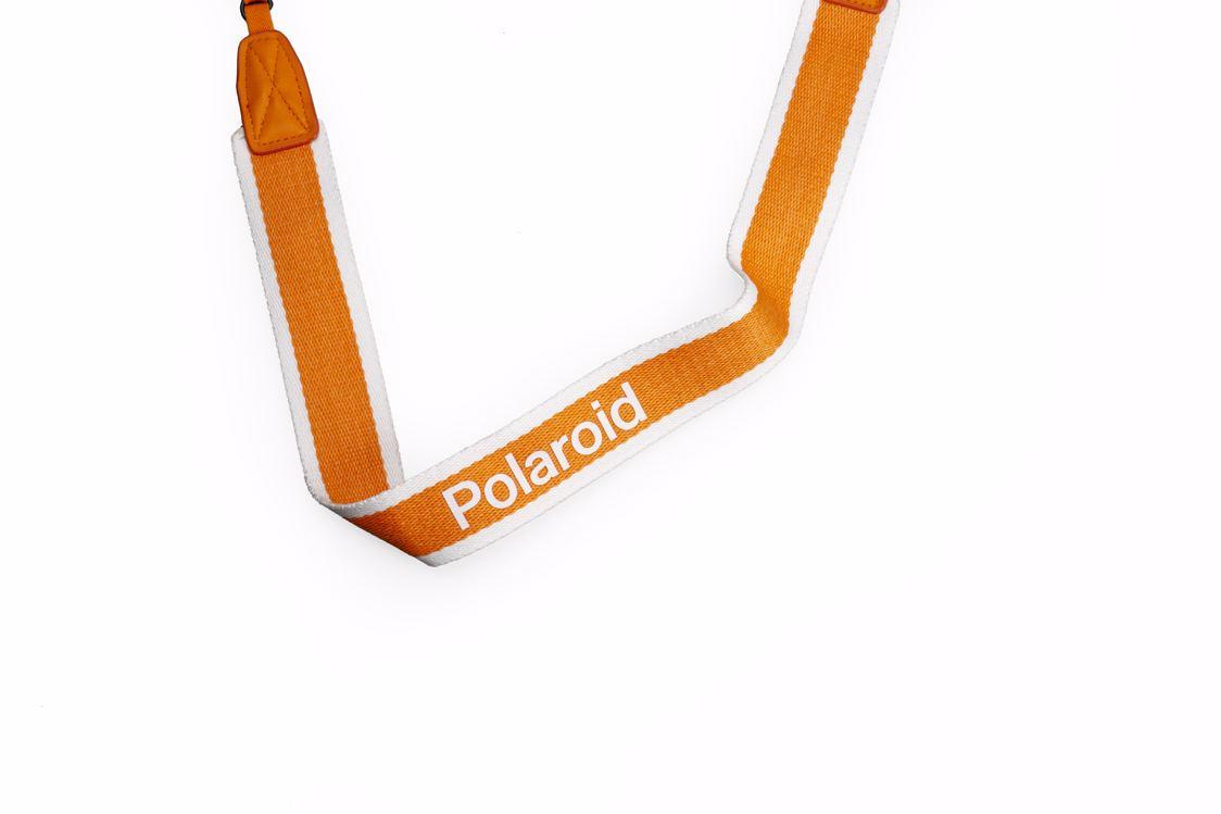 Polaroid - Camera Strap Flat For Polaroid Cameras - Orange