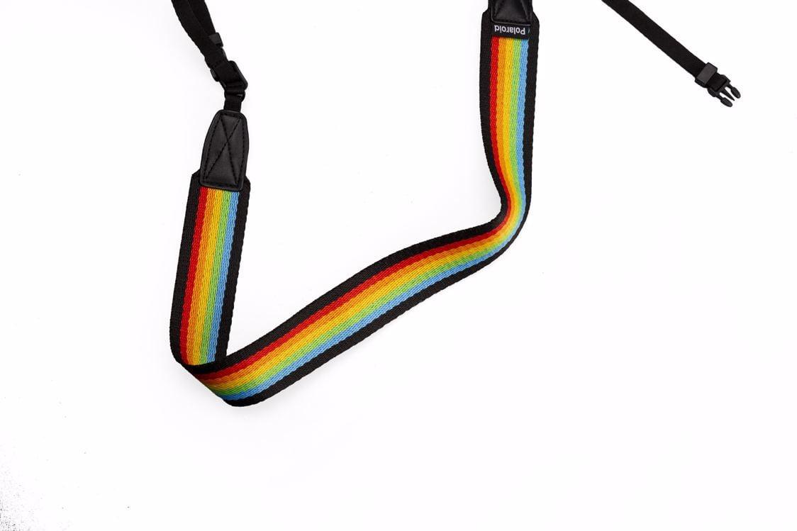 Polaroid - Camera Strap Flat For Polaroid Cameras - Rainbow Black