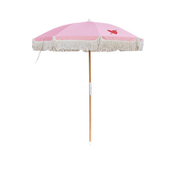 Rice - Parasol w. Tilt Function - Pink