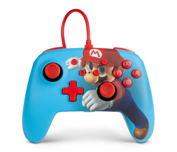 PowerA Nintendo Switch Enh Wired Controller - Mario Punch