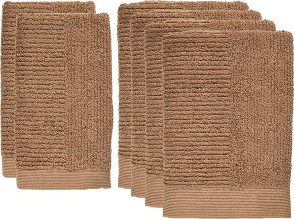 Zone - Classic Towel Set 6 pcs - Amber (551317)