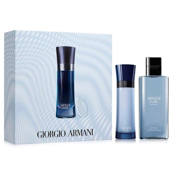 Armani - Code Colonia EDT 75 ml + Shower Gel 75 ml - Gavesæt