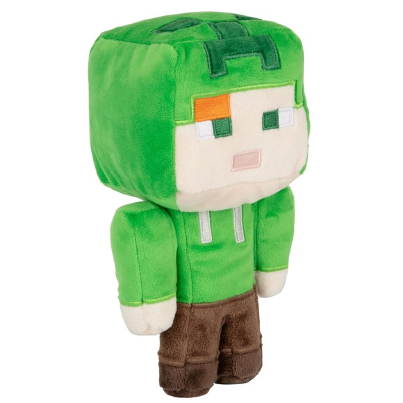 Minecraft Happy Explorer Alex In Creeper Costume Plush