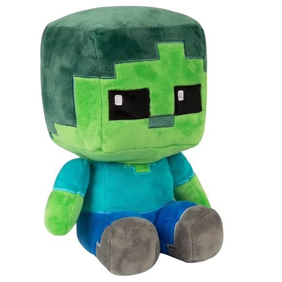 Minecraft Mini Crafter Zombie Plush