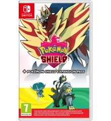 Pokémon Shield (UK, SE, DK, FI)  + Expansion Pass