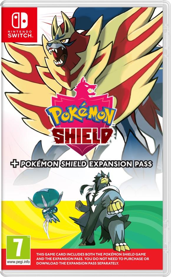 Pokémon Shield (UK, SE, DK, FI)  + Expansion Pass