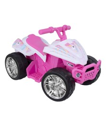 EVO - Electric Car - 6V Quad Pink Unicorn (1437560)